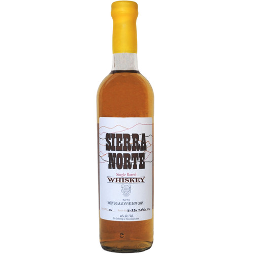 Sierra Norte Yellow Corn Whiskey 750mL