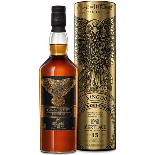 Game Of Thrones Six Kingdoms Mortlach 15 year Single Malt Scotch 750mL