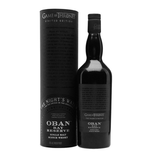 Game of Thrones Night's Watch - Oban Bay Reserve 750mL
