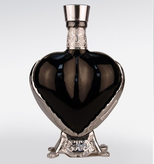 Grand Love Tequila Anejo Black Heart Bottle 750mL