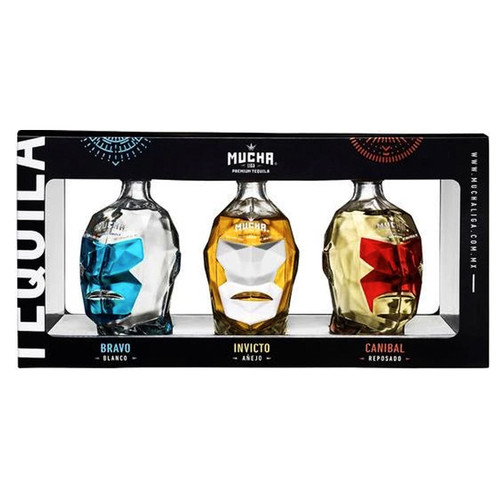 Mucha Liga Tequila 3 Pack 100mL