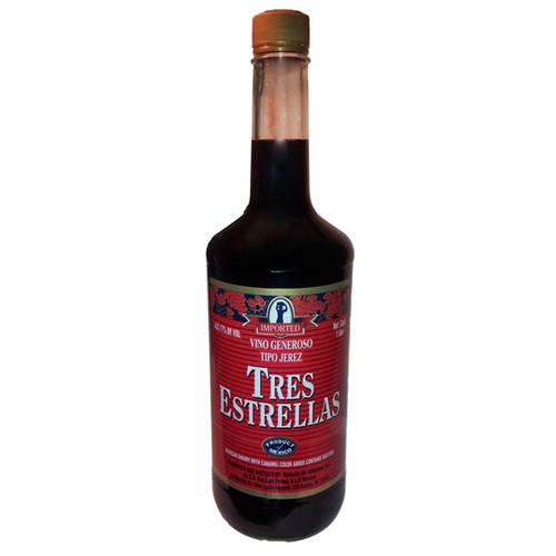 Tres Estrellas Jerez Mexican Cherry Liqueur 1L