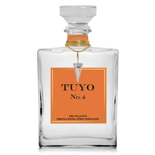 TUYO No.4 Extra Añejo Cristalino Tequila 750mL