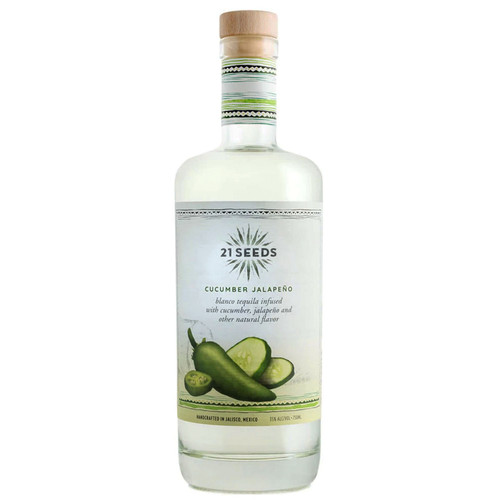 21 Seeds Cucumber Jalapeño Tequila 750mL