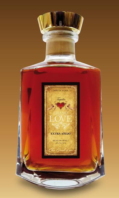 Grand Love Extra Añejo Tequila 750mL