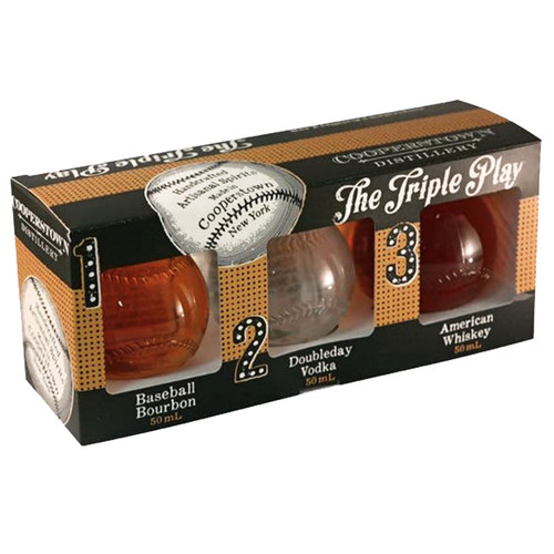 Cooperstown Distillery Triple Play 50mL Combo Pack