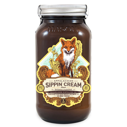 Sugarlands Appalachian Banana Pudding Sippin' Cream 750mL