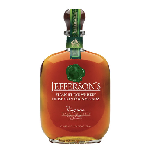 Jefferson's Rye Cognac Cask Finish 750mL