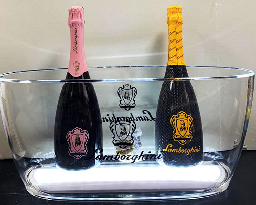 Lamborghini Two Bottle Champagne Combo