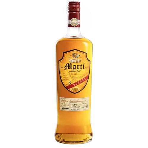 Martí Autentico Dorado Rum 750mL