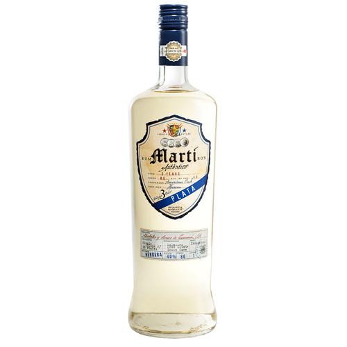 Martí Autentico Plata Rum 750mL