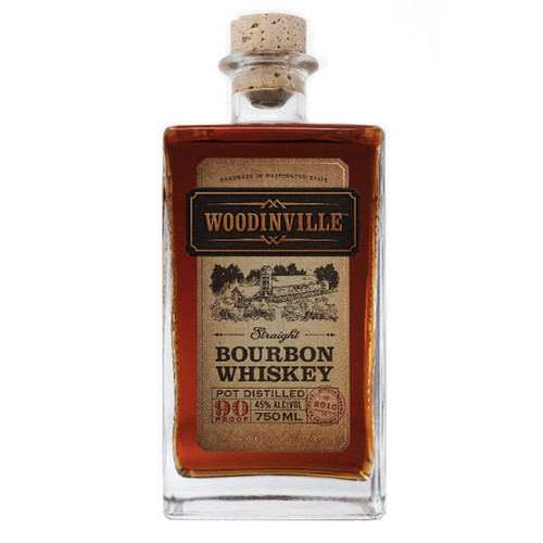 Woodinville Straight Bourbon Whiskey 750mL