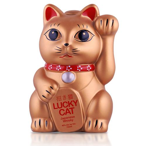 Lucky Cat Whisky Gold 750mL