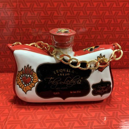 Teky Lady's Purse Tequila Añejo 375mL - 4