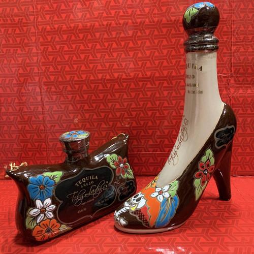 Teky Lady's Tequila Añejo High Heel and Purse Set Each 375mL - 1