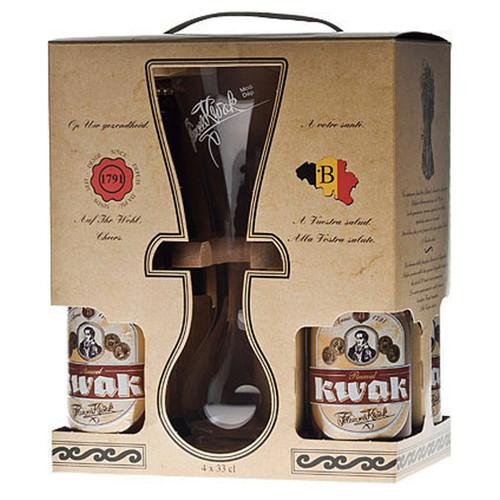 Pauwel Kwak Beer 4 Pack Gift Set