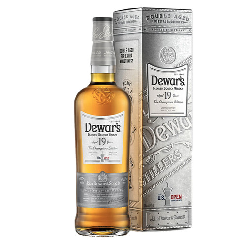 """Dewar's Blended Scotch 19 Year Old """"Champions Edition"""""""
