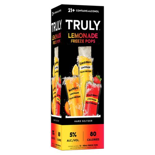TRULY Hard Seltzer Lemonade Freeze Pops Variety (12pk 100mL)