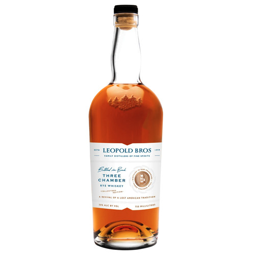 Leopold Bros Collector's Edition Three Chamber Rye Whiskey 750mL