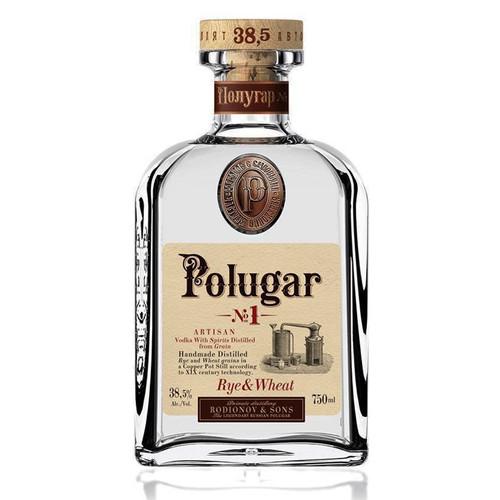 Polugar No.1 Rye & Wheat Vodka 750mL