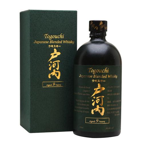 Togouchi 9 year old Japanese Blended Whisky 750mL