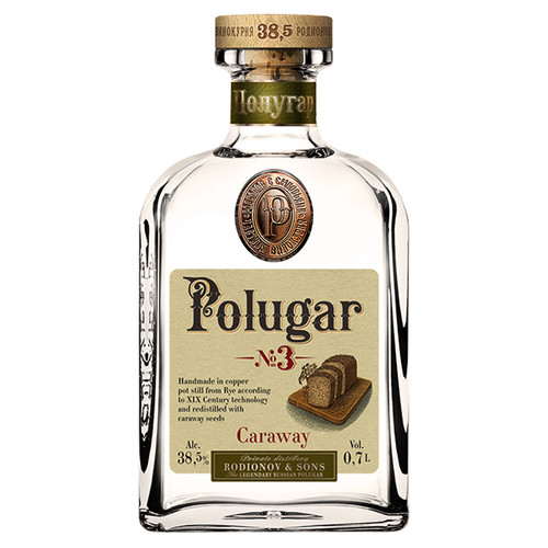 Polugar No.3 Caraway Vodka 750mL