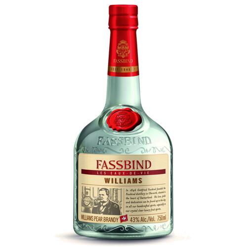 Fassbind Les Eaux de Vie Williams Pear Brandy 750mL