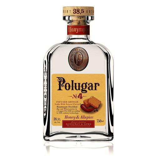 Polugar No.4 Honey & Allspice 750mL