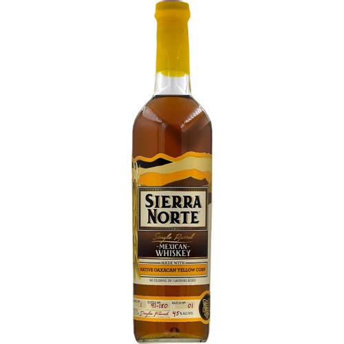 Sierra Norte Native Oaxacan Yellow Corn Single Barrel Whiskey 750mL