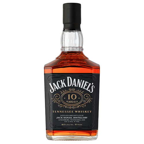 Jack Daniels 10 Year Old Tennessee Whiskey 750mL