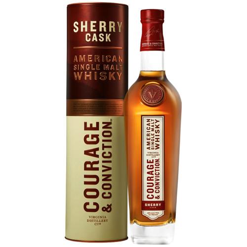 Virginia Distillery Co. Courage & Conviction Sherry Cask 750mL
