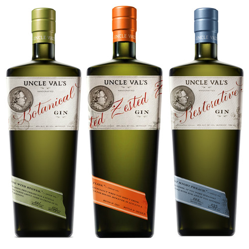 Uncle Val's Gin 3 Pack Combo 15% Off