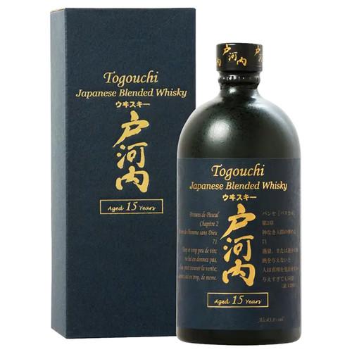 Togouchi Japanese Blended Whisky 15 years old 750mL
