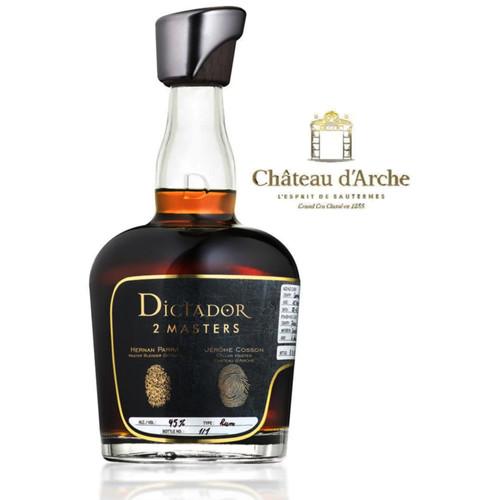 Dictador Rum 2 Masters Chateau D'Arche Sauternes 750mL