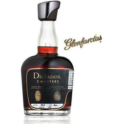 Dictador Rum 2 Masters Glenfarclas Scotch 750mL