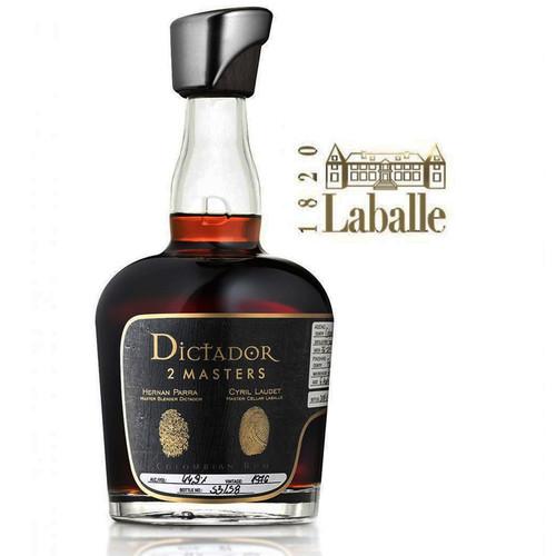 Dictador Aged Rum 2 Masters Laballe Armagnac 750mL