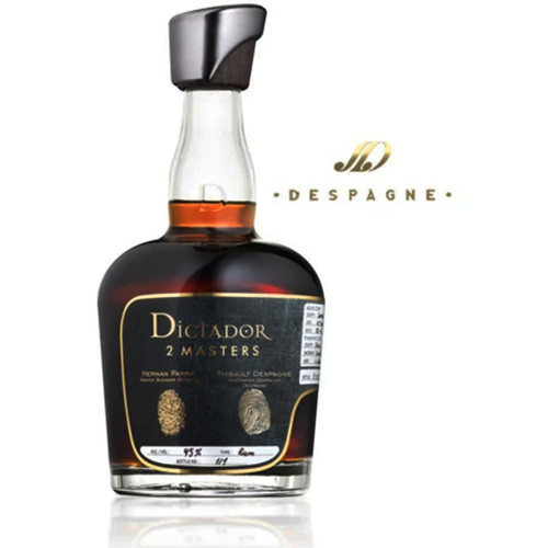 Dictador Rum 2 Masters Despagne Bordeaux 750mL