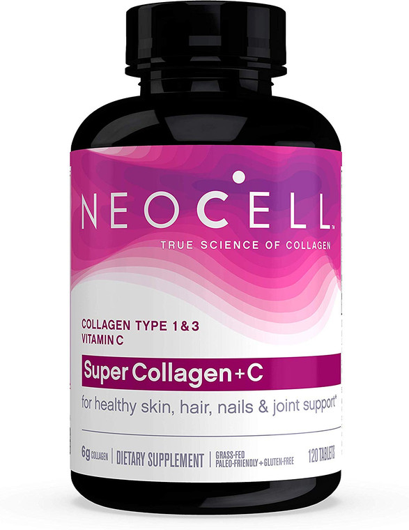 Neocell Super Collagen + C - 6000mg 120 Tablets