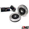 StopTech Sport Drilled and Slotted Front and Rear Brake Rotors with StopTech Street Pads