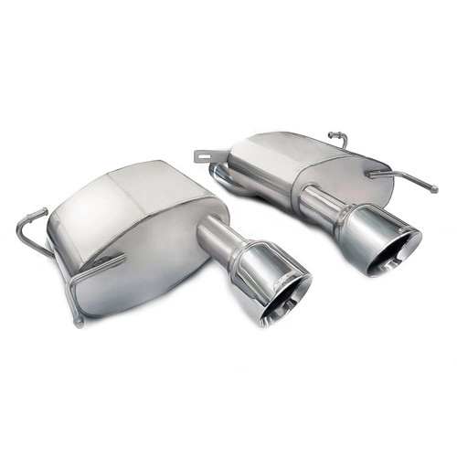 Corsa Performance Polished Sport Axle-Back Exhaust for '11-'15 CTS-V Coupe