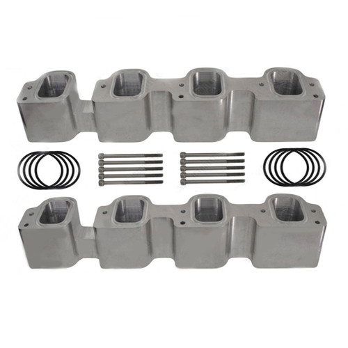 Gen V L83/L86 LT1 Cylinder Head to LT4 Tall Supercharger Adapter Plates Intake