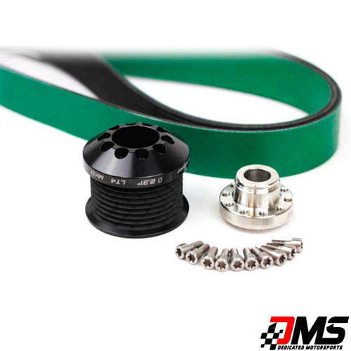"""C7 Z06 LT4 2.30"""" Upper Pulley and Belt Combo"""
