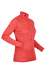 Páramo Women's Tempro Zip Neck Baselayer: Hot Coral