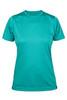 Women's Reversible Cambia Short Sleeve Tshirt: Adriatic