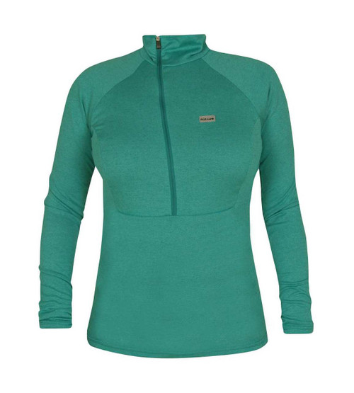 Páramo Women's Tempro Zip Neck Baselayer:  Adriatic