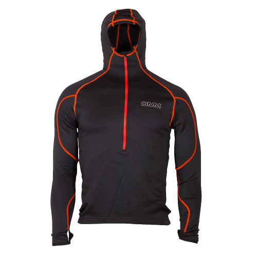 OMM Contour Hooded Fleece with fitted hood