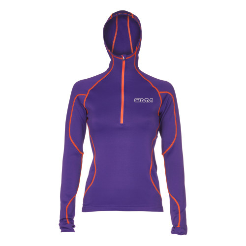 OMM Womens Contour Fleece with integral hood
