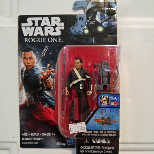 Hasbro Star Wars Rogue One Wave 2 Chirrut Imwe Action Figure (B7276)