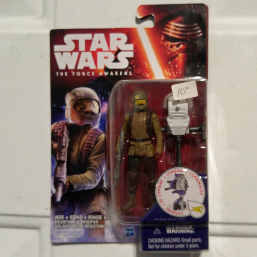Hasbro Star Wars The Force Awakens Resistance Trooper Action Figure (B3451)