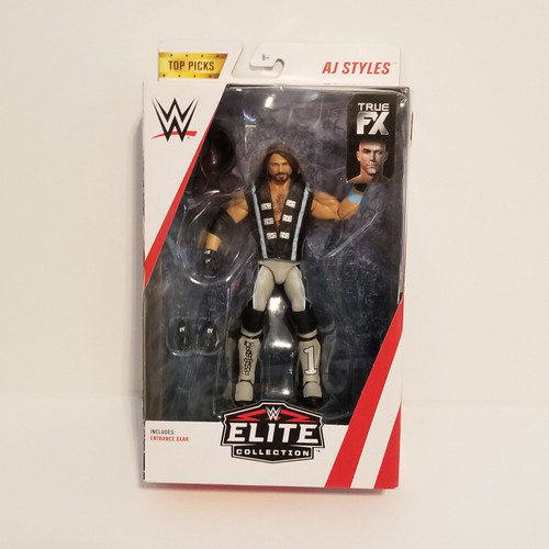 WWE Elite Collection Top Picks AJ Styles Action Figure by Mattel GFT70